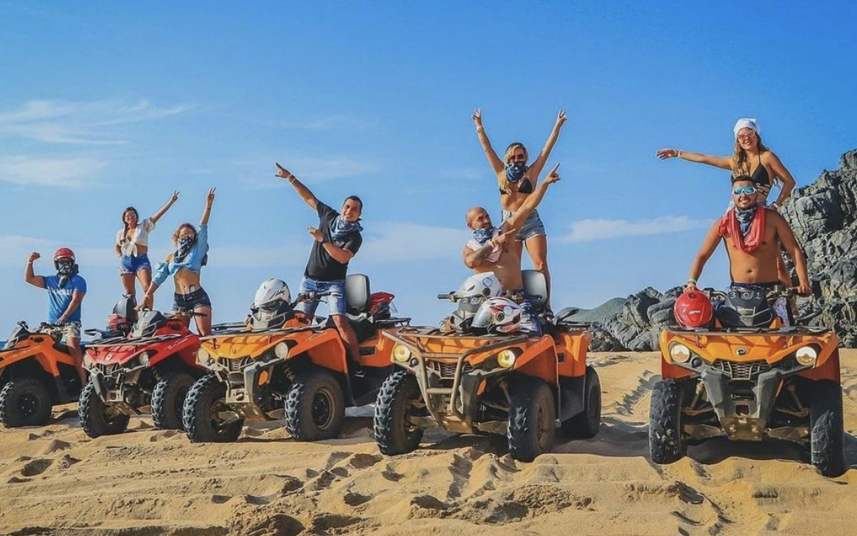 Stag Party at an ATV Excursion